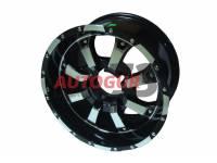 Диск колесный литой УАЗ R16x8 ET 0 5x139.7 DIA 110.1 PATRIOT CITY-8 Глянцевый черный