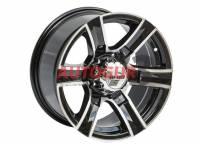 Диск колесный литой УАЗ черный 5x139,7 8xR16 d110 ET+15