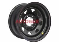 Диск колесный стальной штампованный Нива, Шевроле Нива 1670-539985 BL ЕТ (+25) А17 (черный) OFF-ROAD Wheels