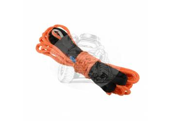 Трос для лебедки синтетический 12мм*28 метров (оранжевый)